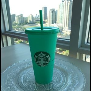 Starbucks changing color cup 2020 /Green